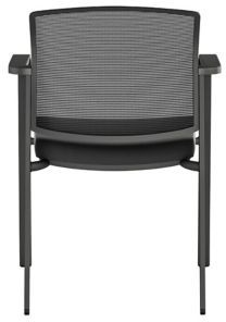 Paxton Mesh Back Stackable, rear