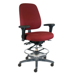 Intensive Heavy Duty Stool with arms