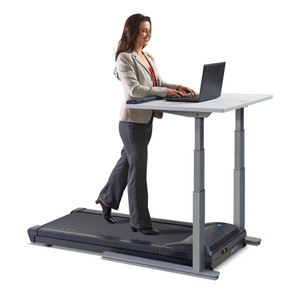 TR5000-DT7 Treadmill Desk with Electronic Height Adjustments