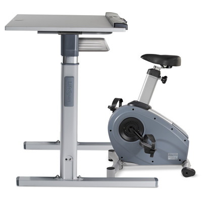 Stationary Bicycle Desk Desk Exercise Bike Officechairsusa