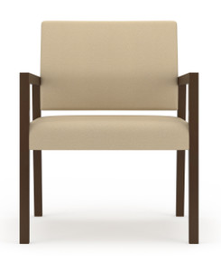 Brooklyn Wood Oversized Guest Chair