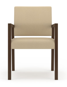 Brooklyn Wood Guest Chair with arms