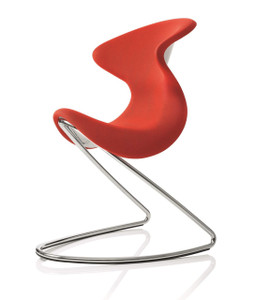 Oyo in Red with chrome base