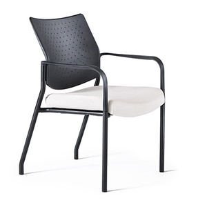 Facet Stacker with Upholstered Seat