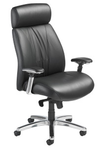 Presider Executive with headrest, aluminum base and arm option