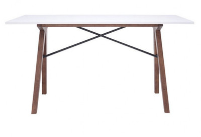 "Saints Desk, 55""W x 27.6""L x 28.7""H"