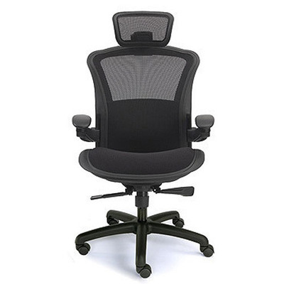 Valo Viper Executive Heavy Duty Ergonomic Tilter Shown with optional headrest