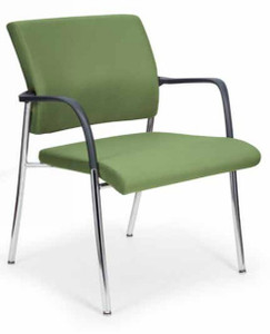 Finesse Upholstered Bariatric Side Chair with fixed (50BL) arms