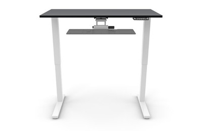 eFloat Sit-Stand Adjustable Height Table with optional keyboard system