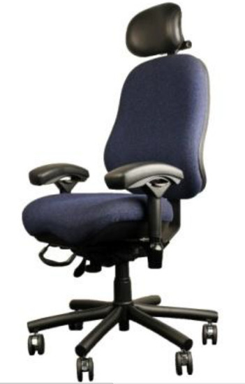 24-7 Moderately Contoured High Back CREW Executive by BodyBilt ™