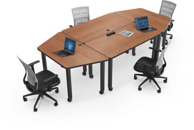modular conference room tables modular conference table. Black Bedroom Furniture Sets. Home Design Ideas