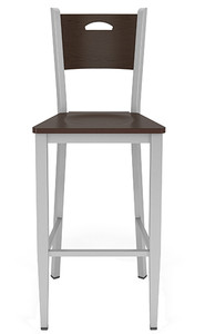 Concord Cafe Stool with Wood Seat