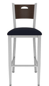 Concord Cafe Stool with Fabric Seat