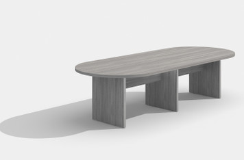 Amber Expandable Conference Table, 10 ft, in Valley Grey