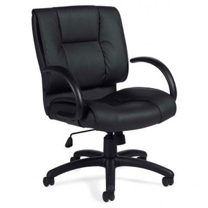 Offices to Go Luxhide Executive Conference Chair