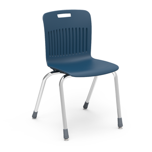 "Analogy Series Student Stacker, 18"" in navy"
