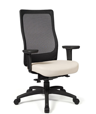 Tact High Knit Back Swivel Tilt Task Chair with Black Knit Back