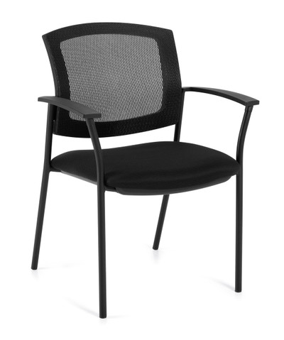 Offices to Go Mesh Back Guest Arm Chair
