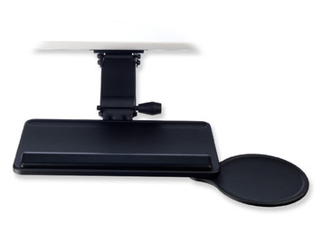 Rise Extended Articulating Arm and Simple Keyboard Tray