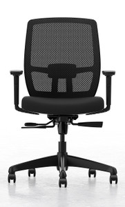 Wander Mid Mesh Back and Black Seat with Synchronous Tilt