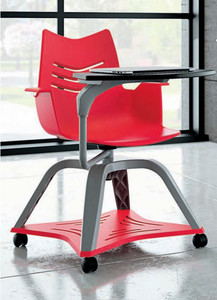 Essay Student Chair with tablet and under chair tray options