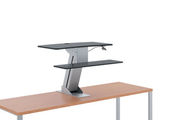 Hon Directional Sit-to-Stand Desktop without monitor arm