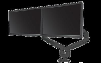 Edge 2 Dual Monitor Arm, black finish