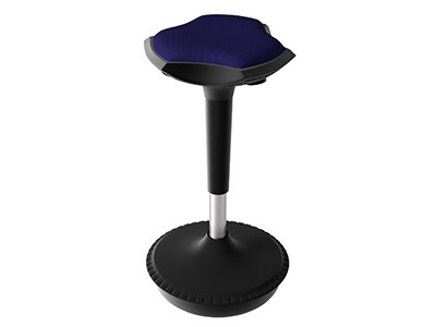 Compel Pogo Active Stool, Nautical Flexi fabric ships in 6-10 days!