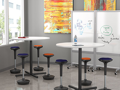 Compel Pogo Active Stool, height adjustable