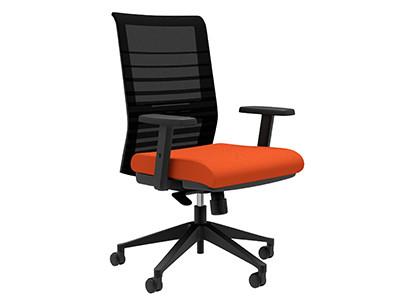 Compel Lucky Synchro-tilt Tasker, Orange Flexi fabric