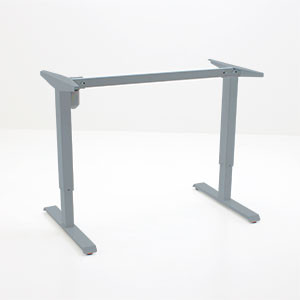 501-33 Laminate Electric Sit-Stand frame, silver
