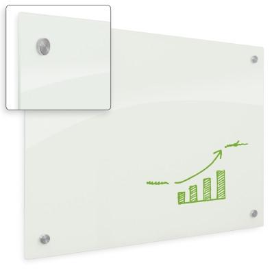Enlighten Non-Magnetic Glass Dry Erase Whiteboard