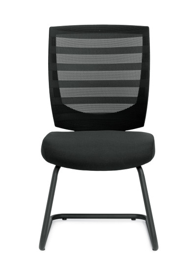 Mid Back Armless Guest Chair