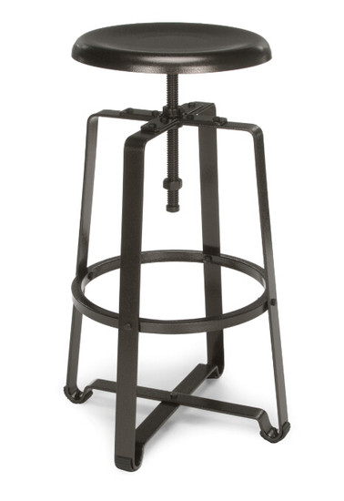 920 Endure Tall Stool, Dark Vein frame and metal seat