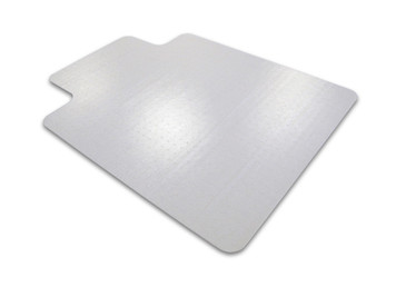 FloorTex ClearTex Advantagemat Chairmat for Low Pile Carpet with Lip