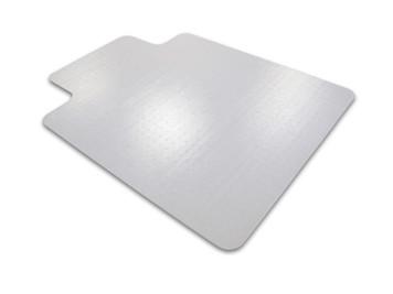 FloorTex ClearTex Advantagemat Chairmat for Low Pile Carpet with Lip