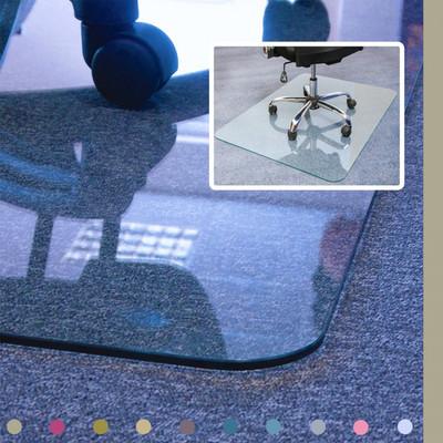 FloorTex ClearTex Glass GlacierMat for Hard Floors & All Pile Carpet