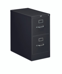 Hon 310 Series Two Drawer Vertical File Black (P)