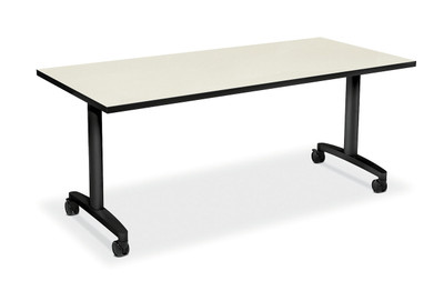 """60"""" Huddle Table, Silver Mesh top"""