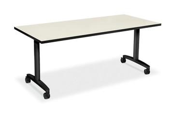 "60"" Huddle Table, Silver Mesh top"