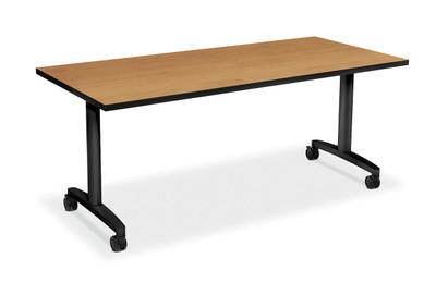 "60"" Huddle Table, Harvest top"