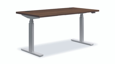 Coordinate Height-Adjustable Desk, Pinnacle P