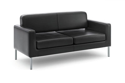 Hon Leather Corral Club Sofa
