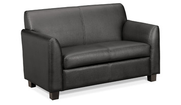 Hon Leather Lounge Loveseat