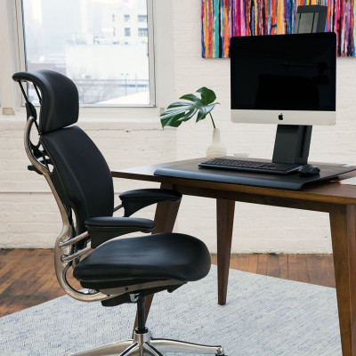 QuickStand Eco Single Monitor Sit Stand Desktop