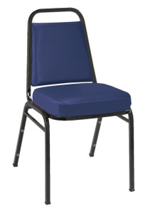 kfi IM Series Stacking Event Chair, Blue Vinyl