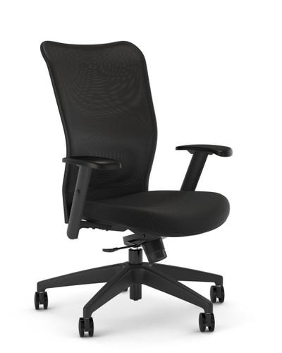 Kimball ITSA 2.0 24-7 Tasker with lower seat height range, Black seat