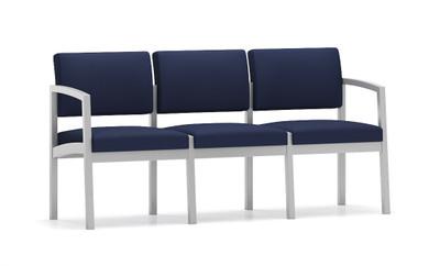 Lenox Steel Frame 3 Seat Sofa