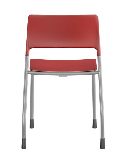 Pierce Multi-purpose Side Chair Quickship in Cayenne