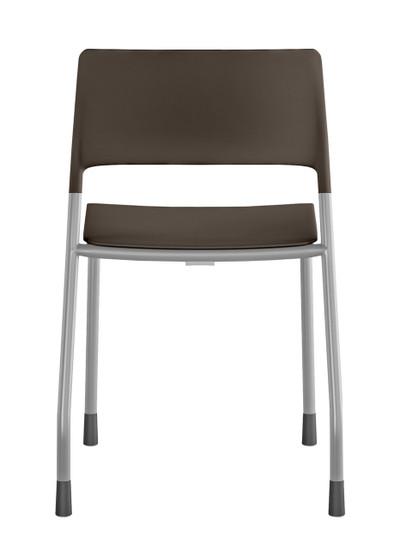Pierce Multi-purpose Side Chair Quickship in Brown Stone